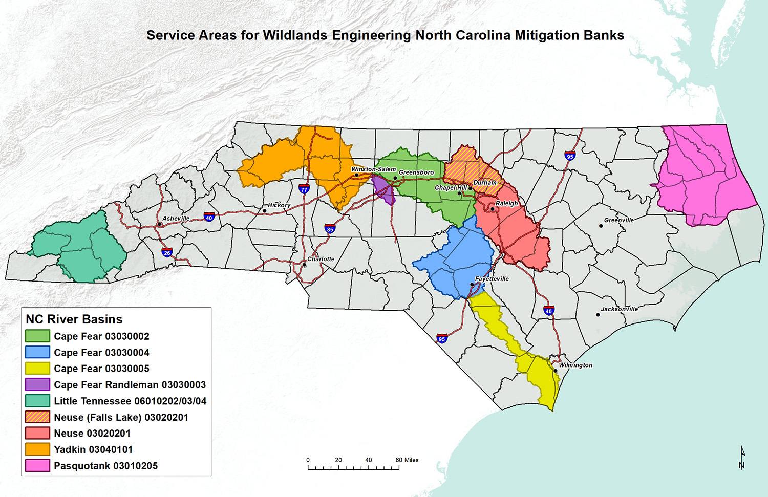 buffer mitigation credits, nutrient mitigation credits